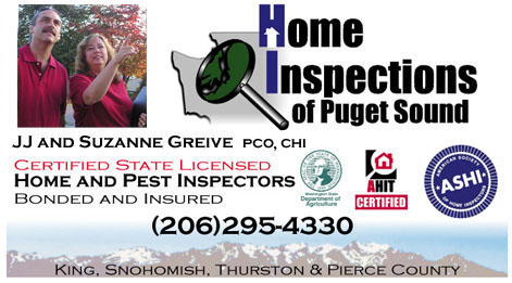Home Inspections of puget Sound 206-295-4330