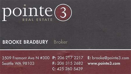 Boooke Bradbury Realtor  425-260-5439