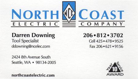 Darren Downing Tool Specialist 425-478-9525