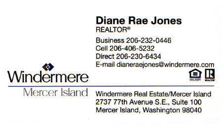 Realtor Diane Rae Jones