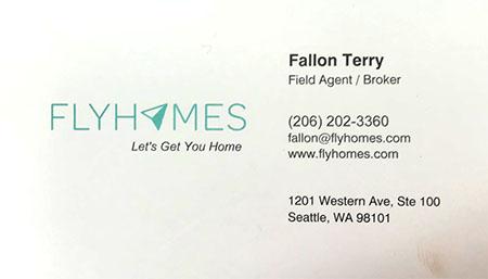 Fallon Terry Broker FlyHomes 206-202-3360