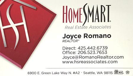 Joyce Ramano Realtor 425-442-6739