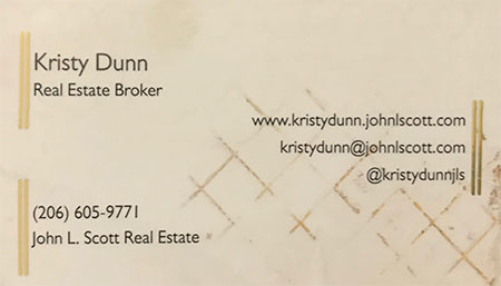 Kristy Dunn Real Estate Broker 206-605-9771