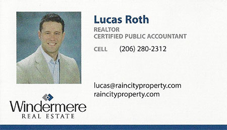 Lucas Roth RainCityProperty.com CPA Realtor 206-280-2312