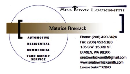 Locksmith Maurice Bressack