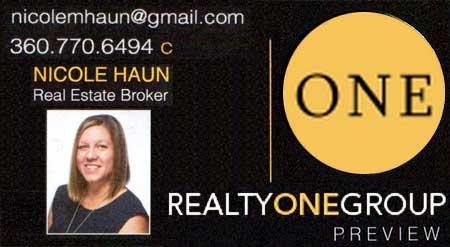Nicole Haun Realtor 360-770-6494