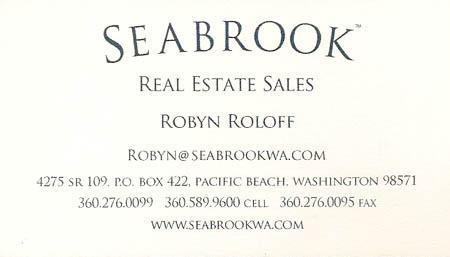 Realtor Robyn Roloff 360-276-0265