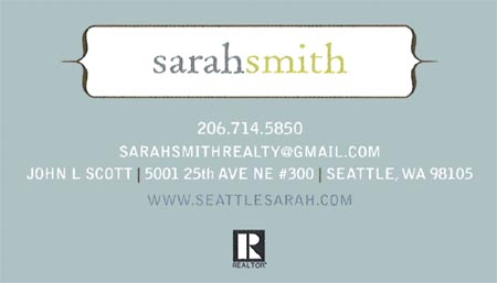 Realtor Sarah Smith 206-714-5850