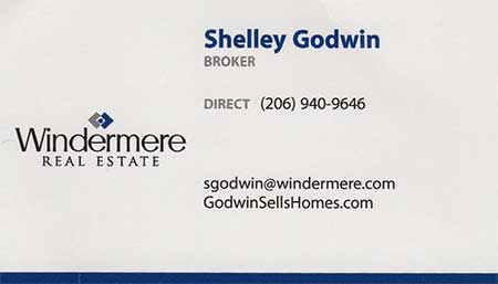 Shelley Godwin Realtor 206-940-9646
