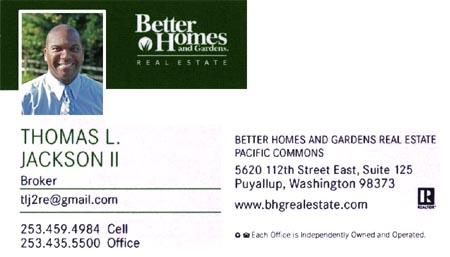 Broker Thomas Jackson 253-459-4984