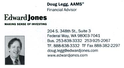 Doug Legg  - Finacial  Advisor