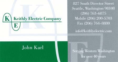 Keithly Electric (206) 763-6875