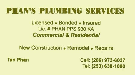 Phan's Plumbing Service 