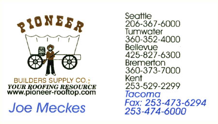 Pioneer Builders Supply Co  