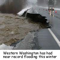 record flooding in washington